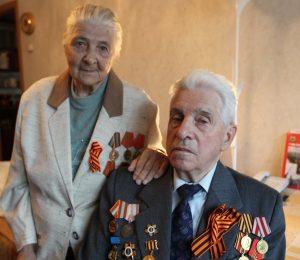 На фото: Дети войны — жители деревни Тетеринки Ульяна и Николай Васины