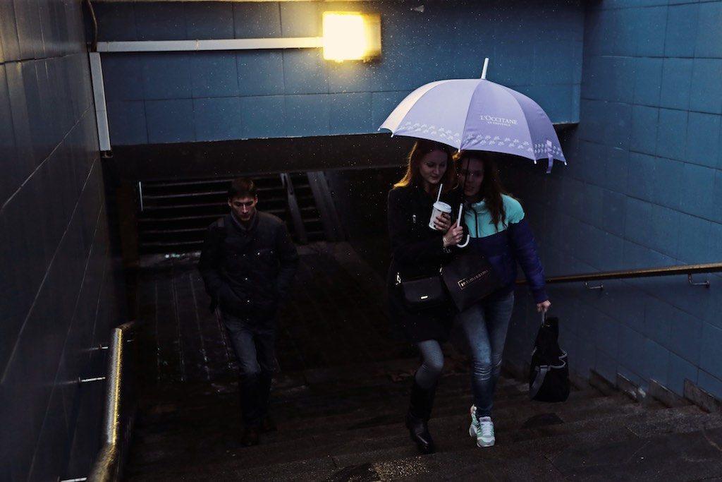 В четверг Москву снова ожидает дождь