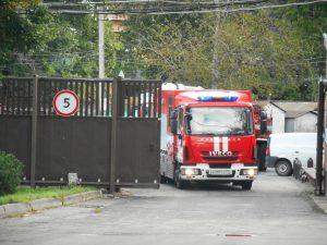 Для спасателей провели пожарно-тактические учения. Фото: пресс-служба Управления МЧС по ТиНАО