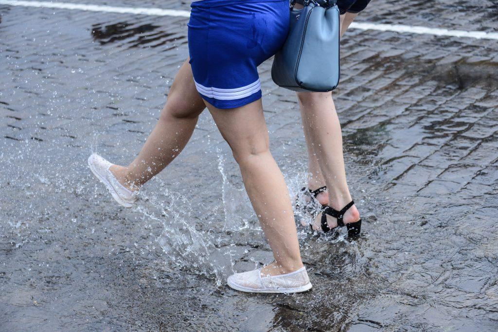В субботу в Москве пройдут дожди