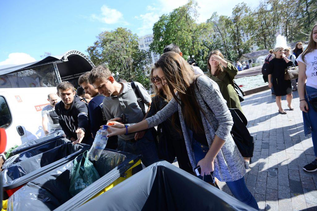 """В библиотеке Московского проведут очередную акцию по раздельному сбору мусора. Фото: архив, """"Вечерняя Москва"""""""