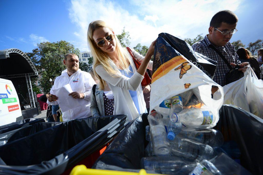 В библиотеке Московского проведут очередную акцию по раздельному сбору мусора