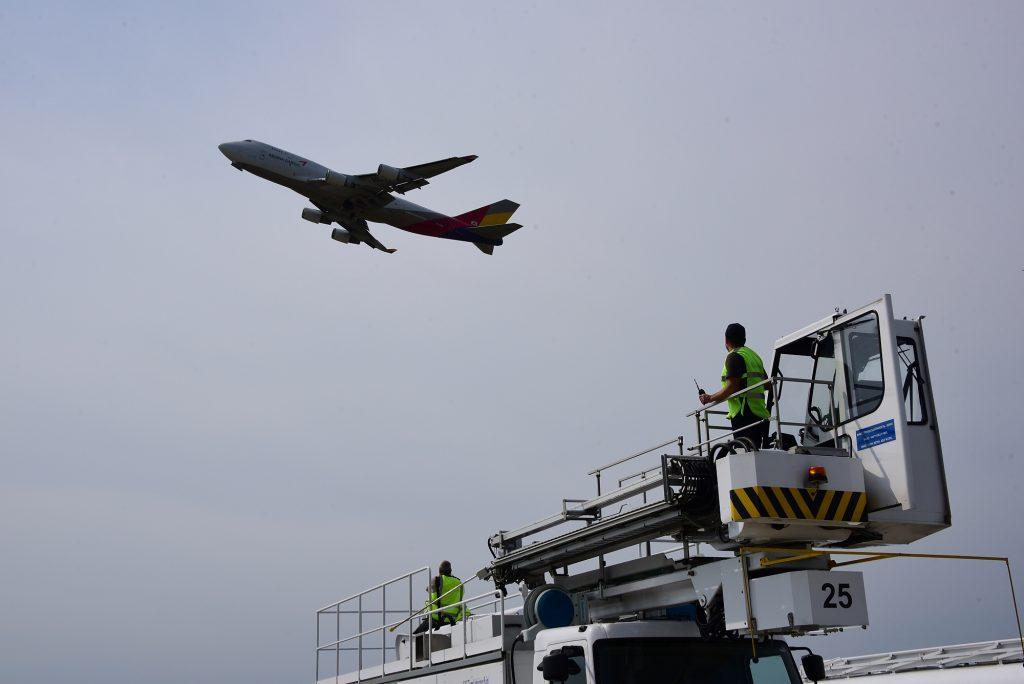 Пассажирский самолет «поймал» турбиной птицу и вернулся во Внуково