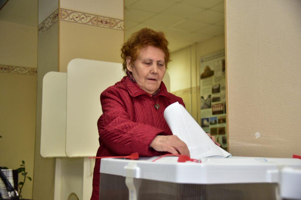 Более 8 процентов москвичей проголосовали на выборах