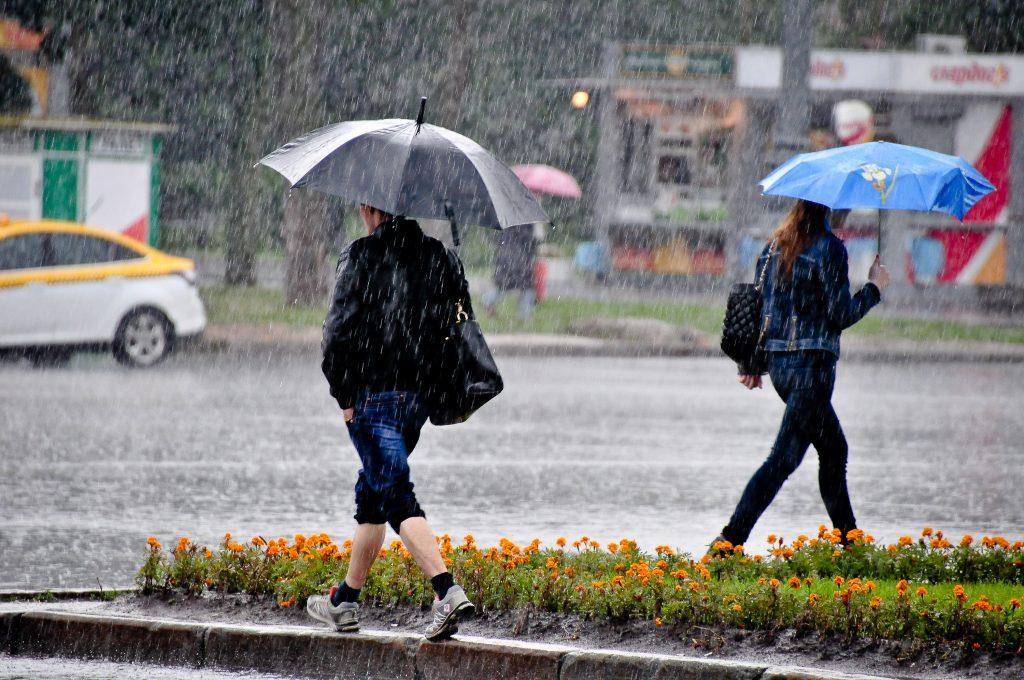 В Москве на 22 сентября введен оранжевый уровень опасности погоды