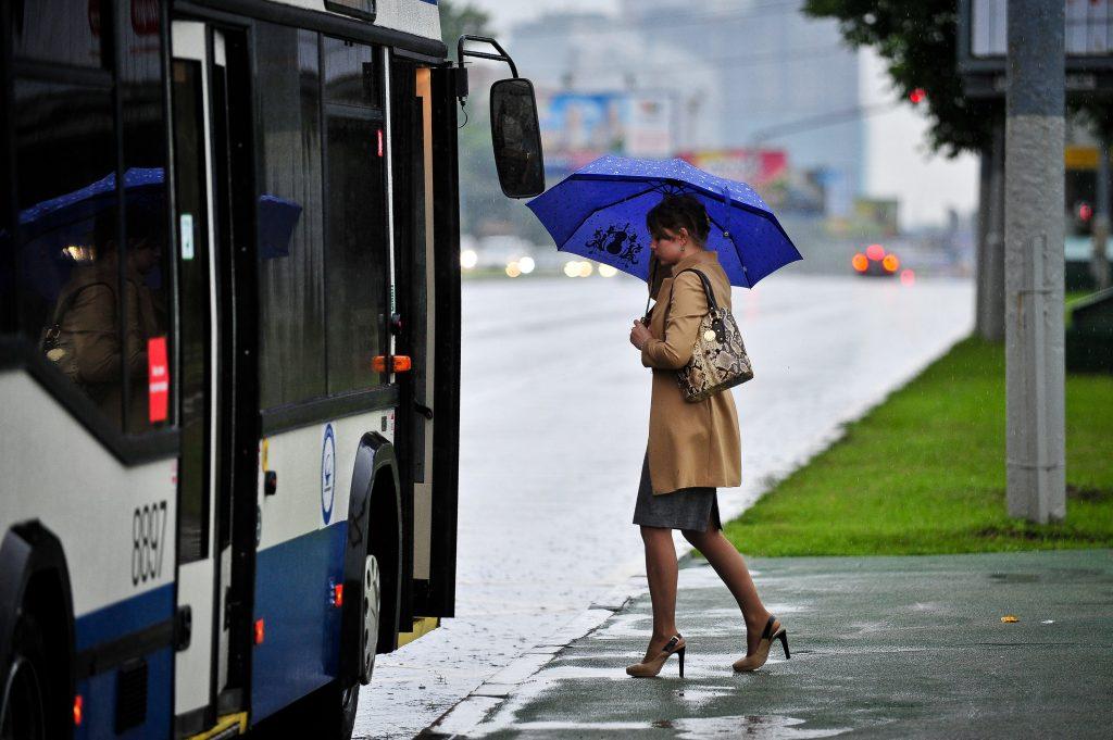 На выходных Москву спасут от дождя