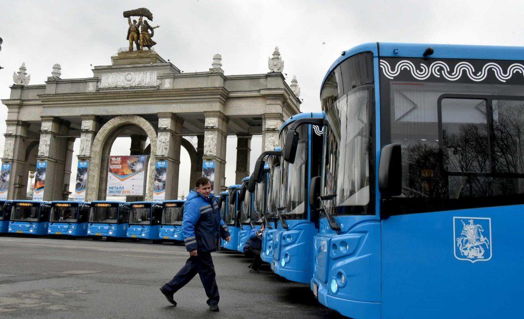 Москва продолжает развивать самый молодой в Европе автобусный парк
