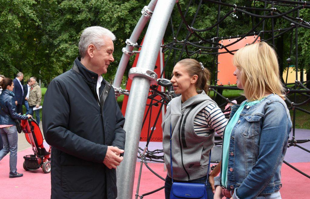 Собянин: В Москве появился первый крытый всесезонный павильон для занятий спортом