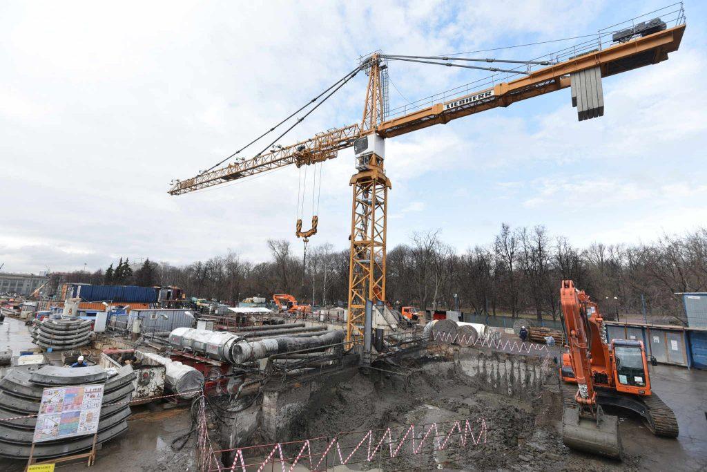 """В Сосенском в 2017 году могут сдать в эксплуатацию крупный торговый центр. Фото: архив """"Вечерней Москвы"""""""