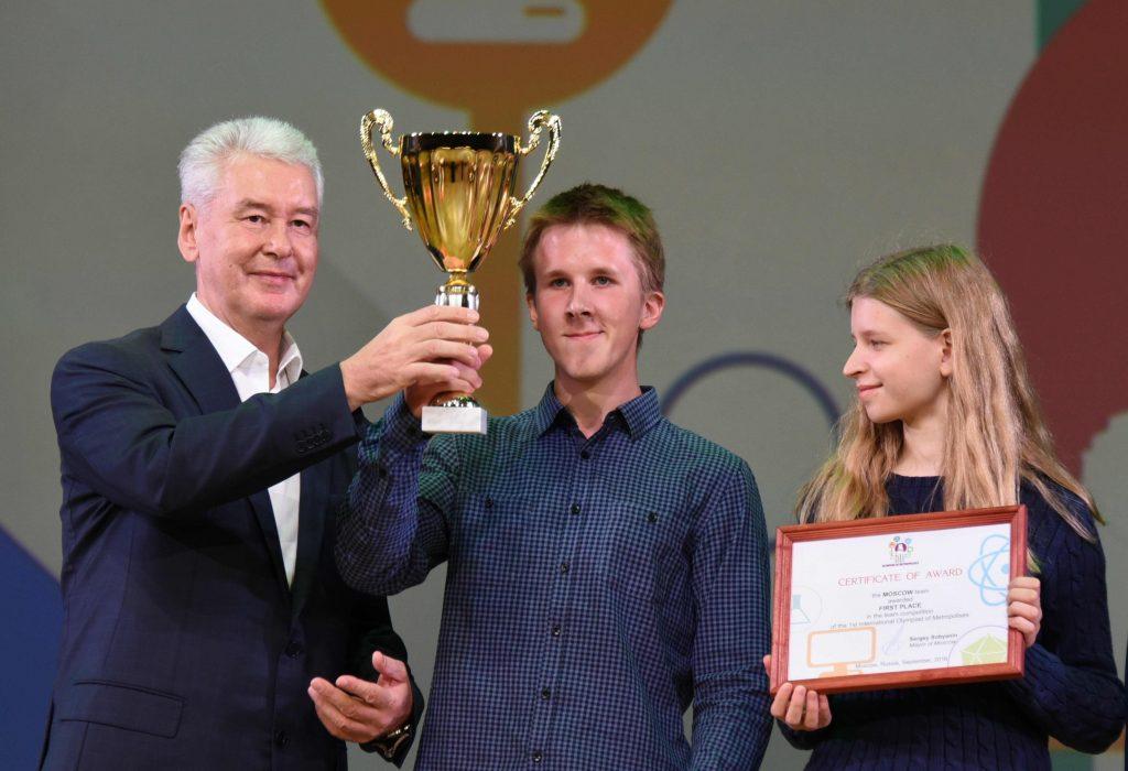 Олимпийцы-интеллектуалы получили награды