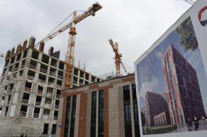 """В новых округах в этом году ввели около 1,5 миллиона «квадратов» недвижимости. Фото: архив, """"Вечерняя Москва"""""""