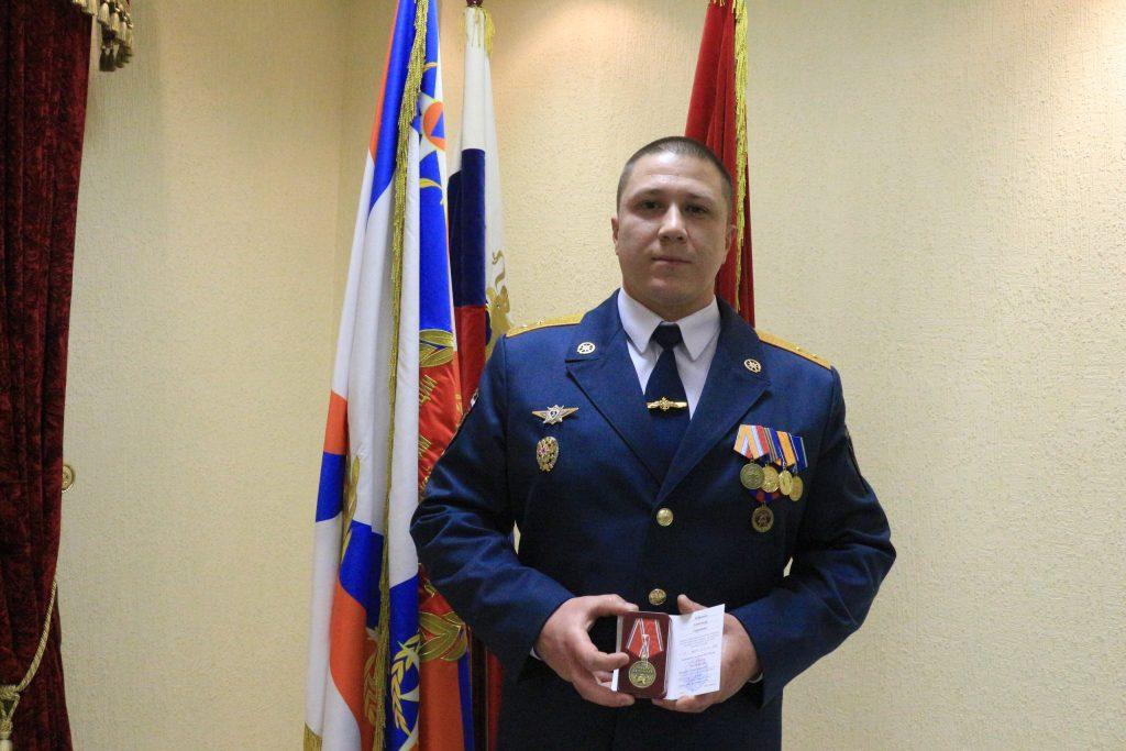 Историю о пожарном из Новой Москвы рассказали на телевидении