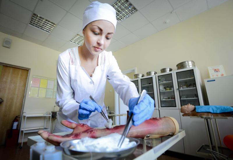 """Более трех тысяч абитуриентов поступило в столичные медицинские колледжи. Фото: """"Вечерняя Москва"""""""