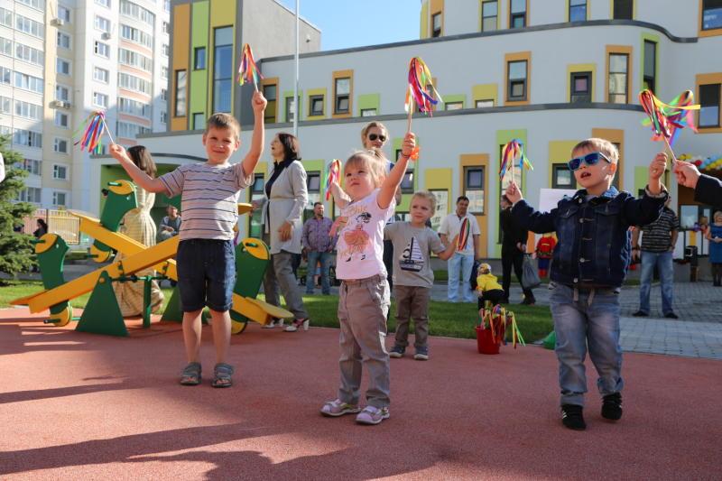 В Троицком и Новомосковском административных округах появились два детских сада