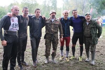 В Вороновском прошли военно-патриотические соревнования «Трасса мужества»