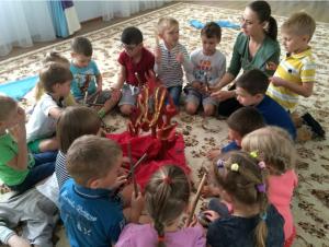 В Сосенском дошкольникам рассказали о музыке первобытного мира. Фото: сайт школы №2070