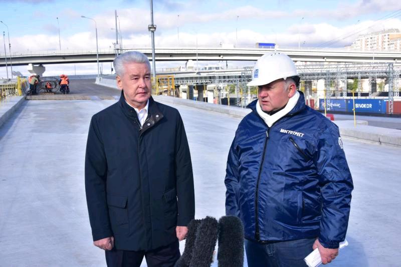 Собянин: Новый участок Северо-Восточной хорды свяжет трассу М11 с Дмитровским шоссе