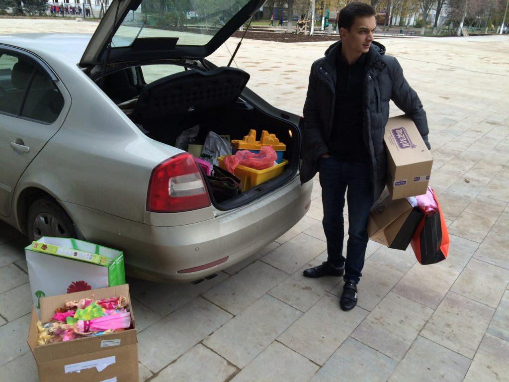 Молодежная палата Московского провела благотворительную акцию