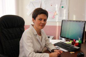 Елена Лисицина, главный врач Щербинской городской больницы. Фото: Владимир Смоляков