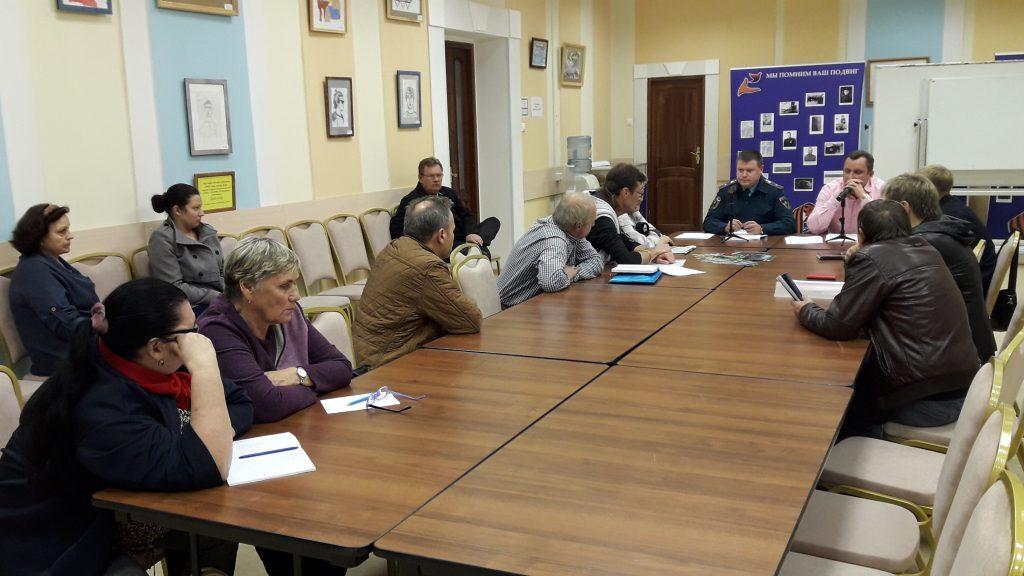 Комиссия по чрезвычайным ситуациям провела в Новомосковском округе подготовку к зиме. Фото: пресс-служба Управления МЧС по ТиНАО