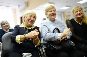 """Для пожилых людей столицы 1 октября пройдут развлекательные программы. Фото: архив """"Вечерняя Москва""""."""