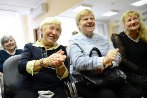 """Для пожилых людей столицы 1 октября пройдут развлекательные программы. Фото: архив, """"Вечерняя Москва""""."""