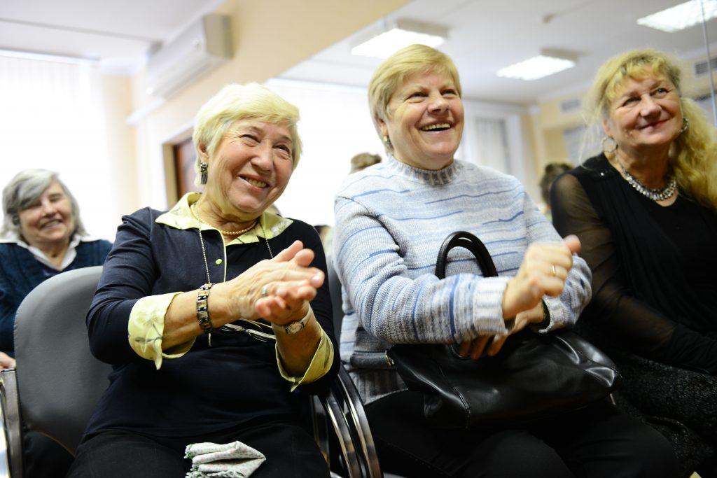Для пожилых людей столицы 1 октября пройдут развлекательные программы