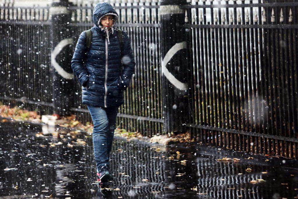 Оранжевый уровень опасности: в Москве ожидают снежный циклон