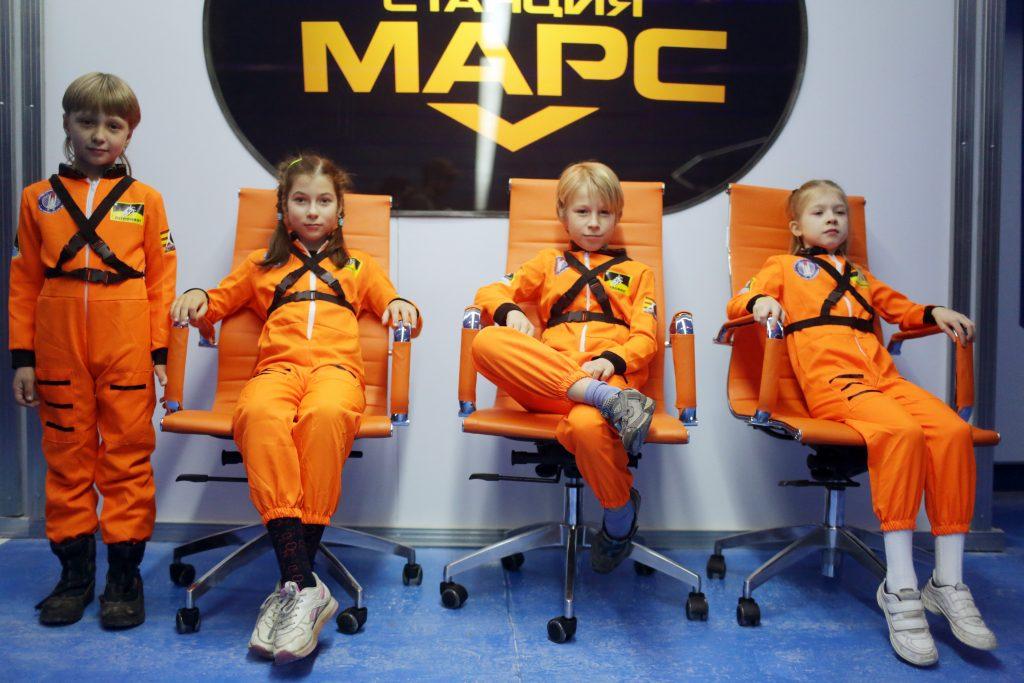 Троицкие школьники приняли участие во Всемирной неделе космоса