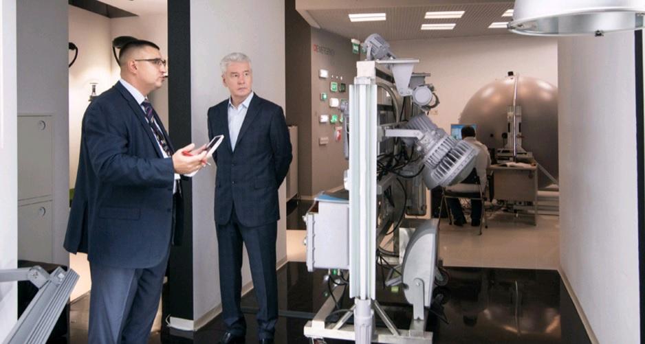 Собянин: За 6 лет в Москве построено более 100 промышленных объектов