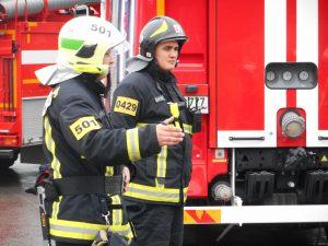 В Троицке прошли пожарные учения по ликвидации последствий аварии. Фото: 31-й ПСО ФПС по Москве