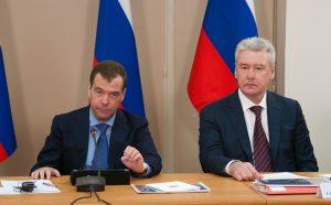 Собянин и Медведев обсудили новые технологии в здравоохранении