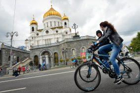 Дата: 24.09.2016, Время: 13:34  Москвский велопарад 2016