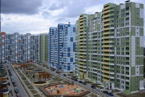 Жилой комплекс на Базовской. Новые панельные дома