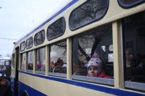 """Парад ретро троллейбусов состоится в Москве. Фото: архив """"Вечерняя Москва"""""""