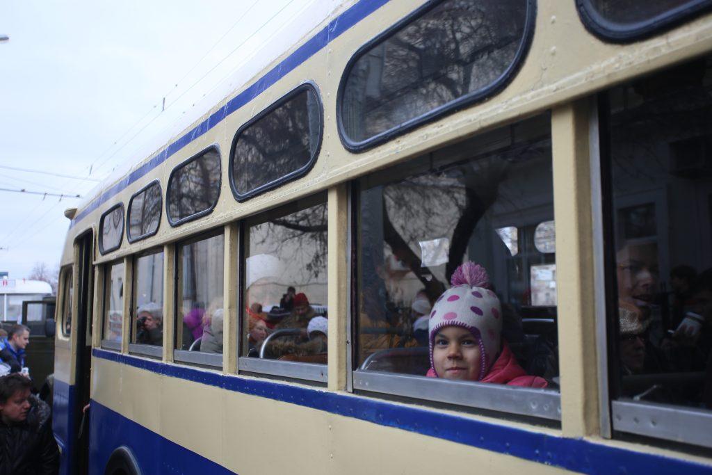 """Парад ретро троллейбусов состоится в Москве. Фото: архив, """"Вечерняя Москва"""""""