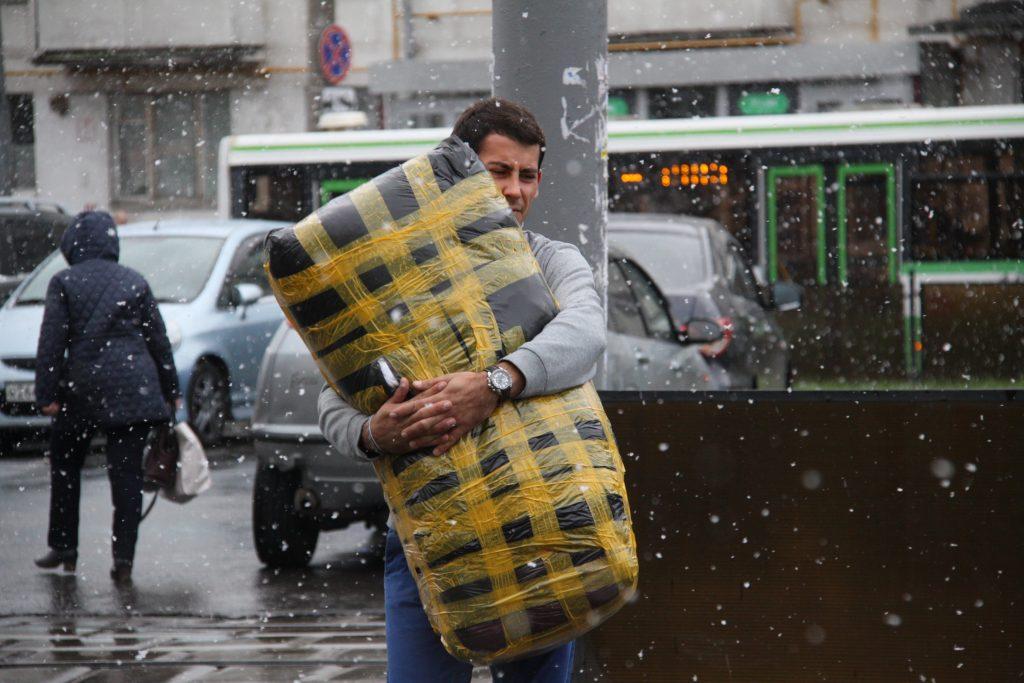 В среду Москву ожидает легкий «минус» и мокрый снег
