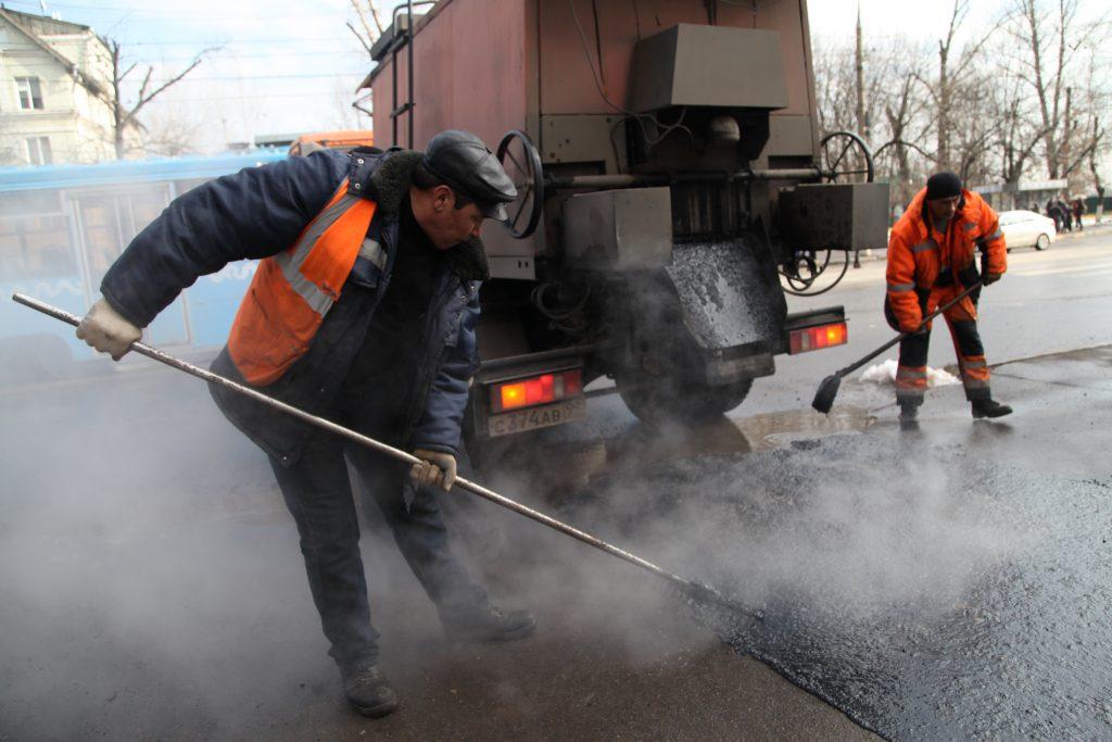 В Москве подходит к концу сезонный ремонт дорог