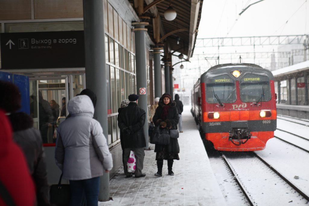 Расписание электричек Киевского направления изменится из-за ноябрьских праздников