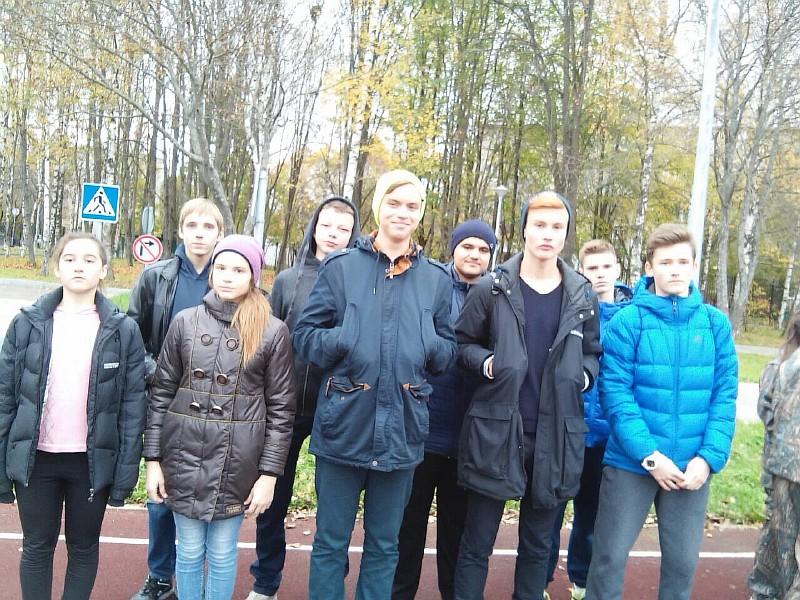 Школа №2075 выбрала команду для окружного этапа соревнований «Школа безопасности»