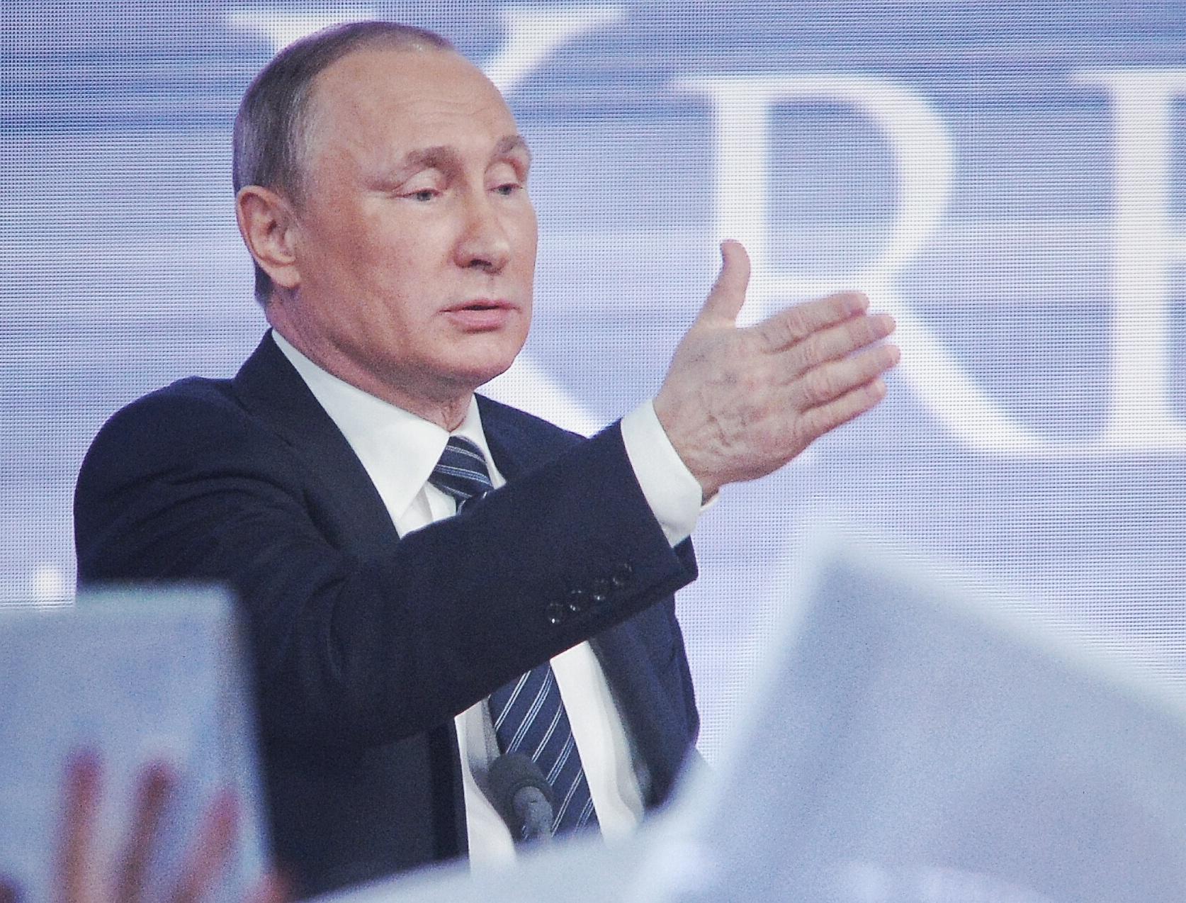 Владимир Путин: инфляция в России обновляет исторический минимум