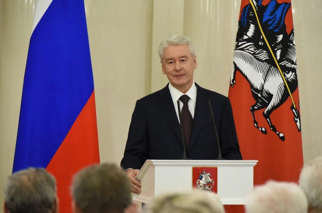 Сергей Собянин поздравил знаменитого хореографа Михаила Лавровского
