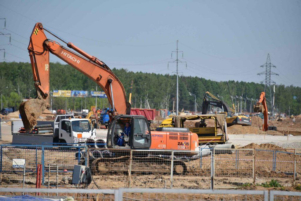 В разворотном тоннеле на Калужском шоссе завершили монолитно-бетонные работы
