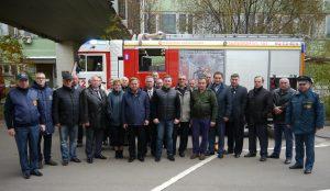 Тренировка пожарных и спасателей. Фото: Ирина Ким.