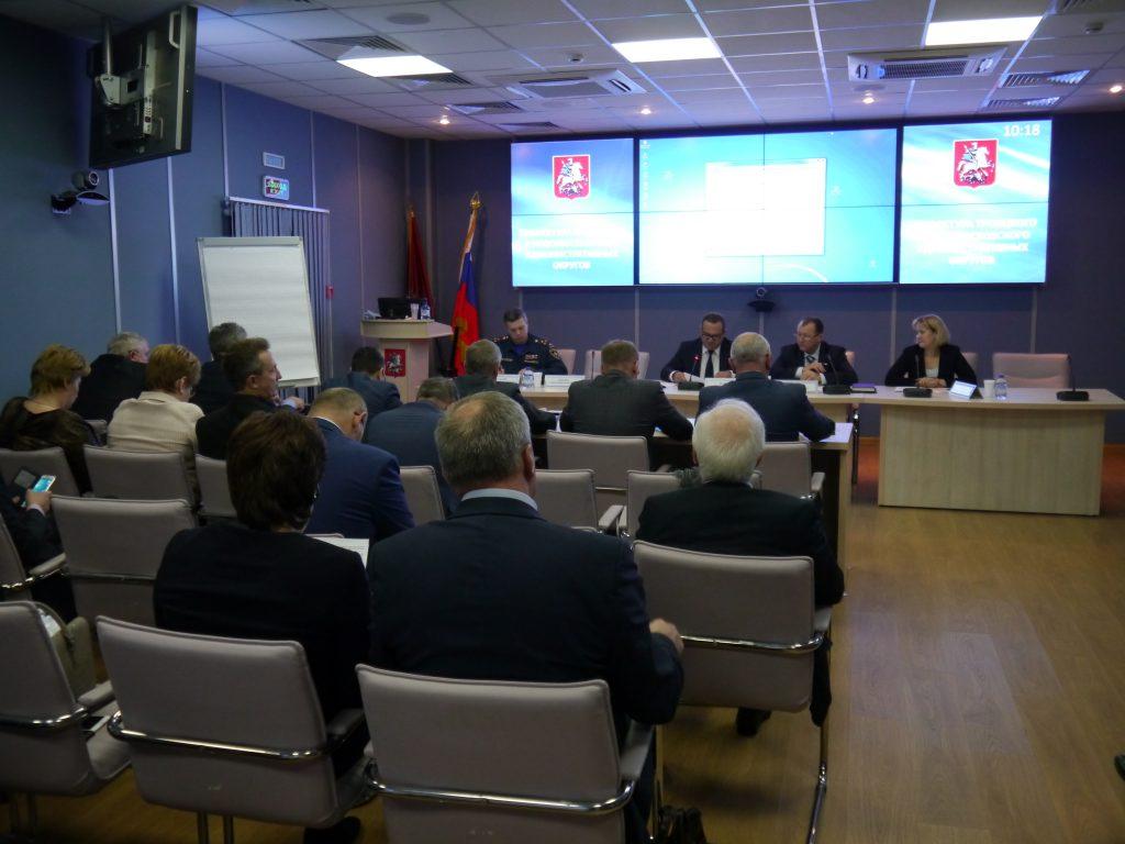 Комиссия по чрезвычайным ситуациям отчиталась о готовности Новой Москвы к зиме