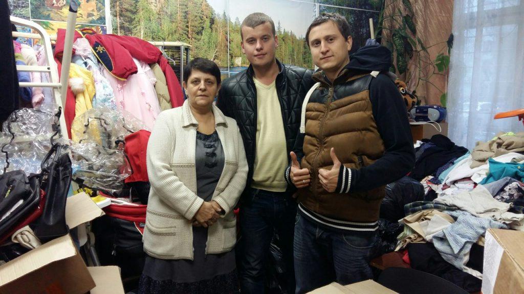 Фото: председатель Молодежной палаты поселения Сергей Мальянц