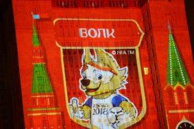 Волк признан официальным талисманом ЧМ по футболу. Фото: Евгений Биятов/РИА Новости