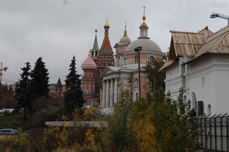 Первые заморозки были зафиксированы в Москве