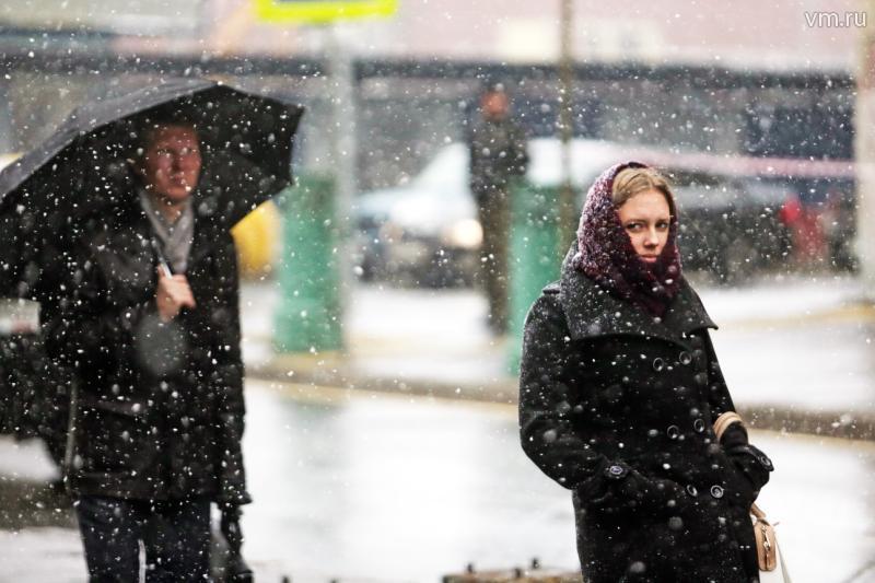 Снегопад пройдет в Москве на следующей неделе