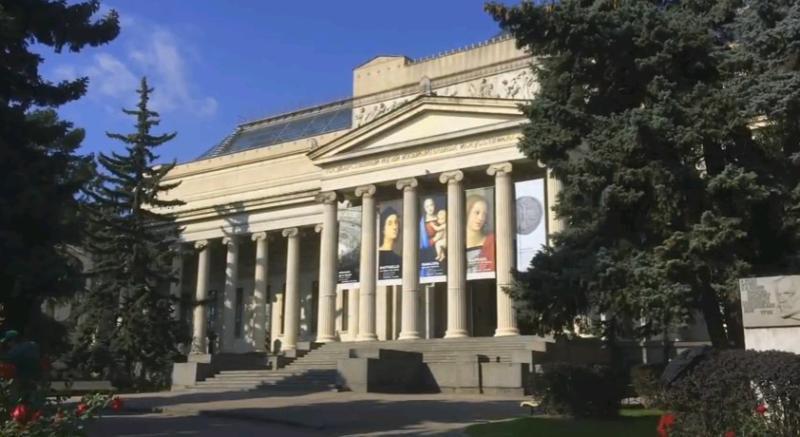 Очередь в Пушкинский музей в бесплатные дни можно будет отслеживать по видеотрансляции